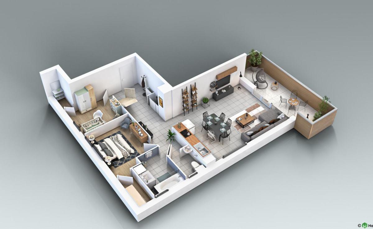 T5 duplex A23 visite virtuelle